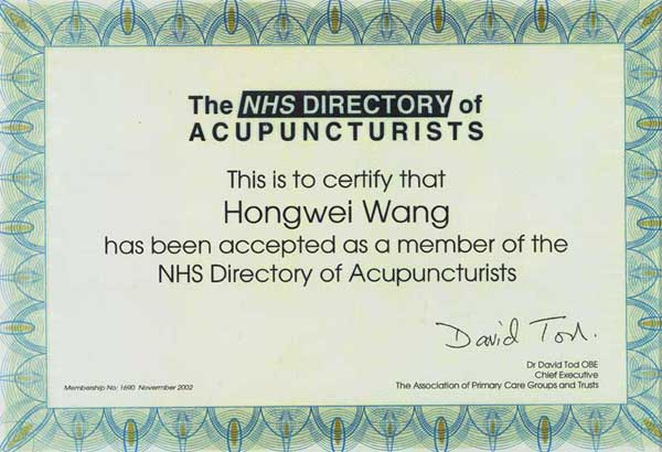 NHS Directory Certificate